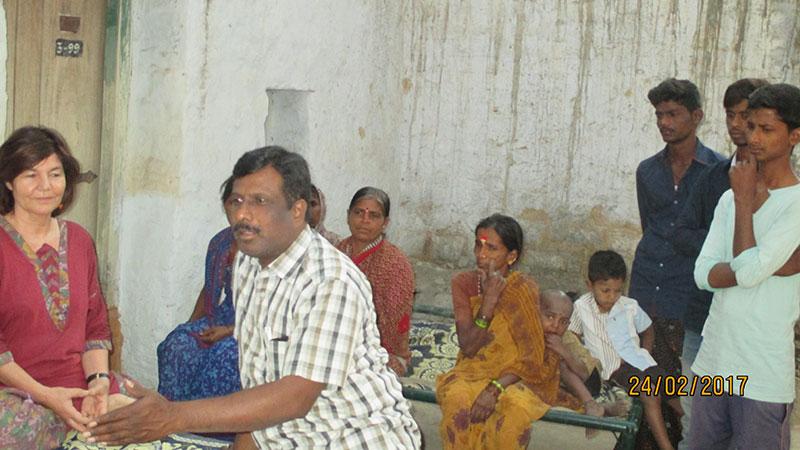 Dorfversammlung mit Eltern