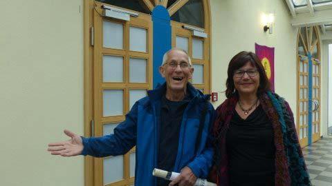 Don Alexander und Krishna in der Stadthalle Gersfeld