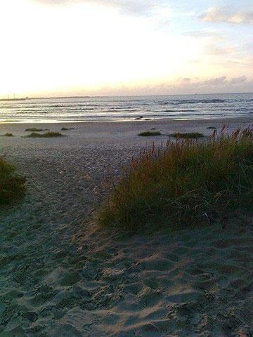 Strand in Estland